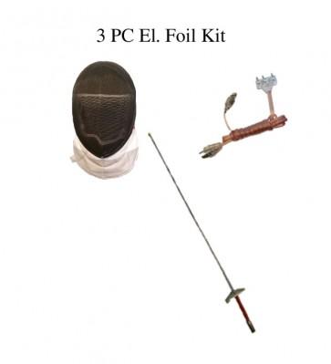 3 PC Foil Set -El. Mask, El Foil, And Bodycord