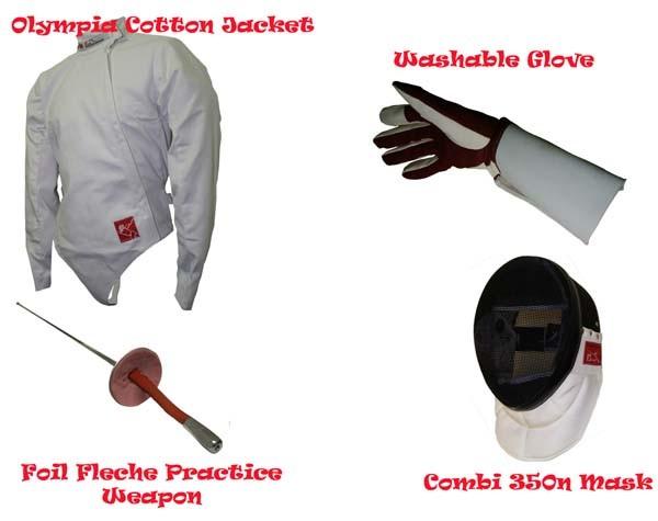 Flexible Foil Fencing Starter Set