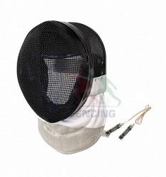 Foil Mask FIE with conductive bib Black PBT 1600/1000 N.
