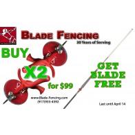 3 PCS Special: Buy 2 Foils get Blade Free