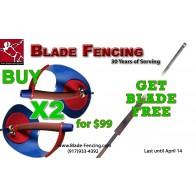 3 PCS Special: Buy 2 Sabres get Blade Free