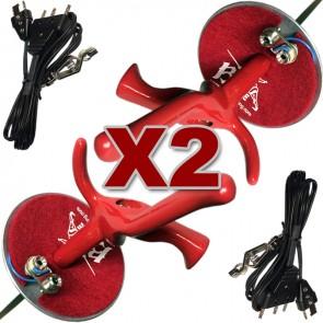 4 PCS Electric Foil Set, 2 Foils 2 Bodycords