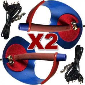 4 PCS Electric Sabre Set,  2 Sabres 2 Bodycords